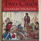 A TALE OF TWO CITIES by Charles DICKENS Illustr. by Busoni 1948 Vintage Classics