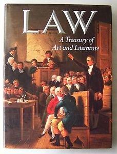 LAW - A Treasury of Art and Literature 1st Ed. Sara Robbins Beaux Arts Ed. 1990