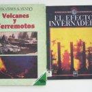 LOT 4 NONFICTION BOOKS printed in Spanish en ESPANOL 3HC+1SC VryGOOD Grade 6 7 8