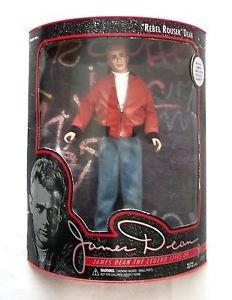 "12"" JAMES DEAN DOLL Figure REBEL ROUSER DEAN 1994 Limited Ed. DSI Orig. Box NRFB"