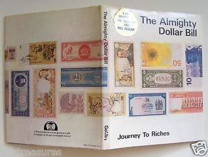 SIGNED First Edition THE ALMIGHTY DOLLAR BILL Journey To Riches ADRIENNE GOLDAY