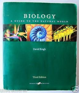 Prentice Hall BIOLOGY A Guide to the Natural World 3rd Student Ed KROGH Nature