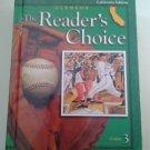 Glencoe LITERATURE The Reader's Choice COURSE 3 Student Ed. CA Edit GRADE 8 Gr 8