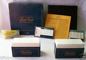 1981 Trivial Pursuit Master Game   Genus Edition   Original Vintage Complete Set