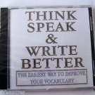WordSmart version 4 Volume I - THINK SPEAK & WRITE BETTER  Mac & Windows CD NEW