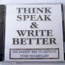 WordSmart version 4 Volume H - THINK SPEAK & WRITE BETTER  Mac & Windows CD NEW