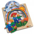 Chelona 3-layer story puzzle: Rainbow /ages 3+ OUT OF STOCK