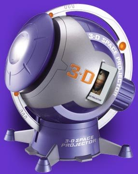 3-D Space Projector 400