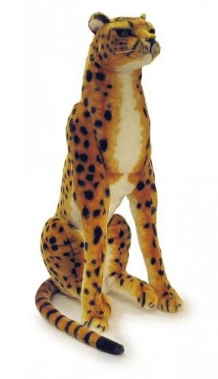 "Sitting Cheetah w/ Sound (36"")"