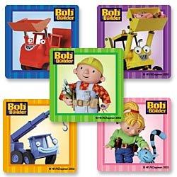 Smilemakers.com Stickers Bob Builder