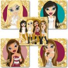 Smilemakers.com Stickers Bratz