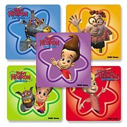 "Smilemakers.com Stickers ""Jimmy Neutron"""