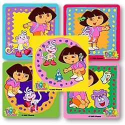 Smilemakers.com Stickers Dora the Explorer
