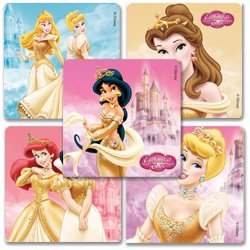 Smilemakers.com Stickers Disney Enchanted Princess'