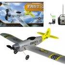 R/C Fast 3 Airplane Silver