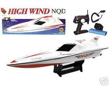 R/C High Wind Fast racing boat