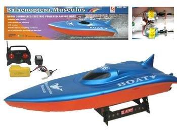 R/C Racing Boat Blue