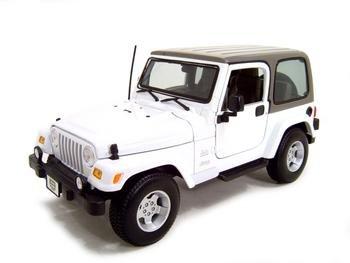 Jeep Wrangler Sahara 1:18 diecast