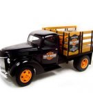 1940 Harley Davidson Ford Stake Truck w/ oil cans 1:16 diecast