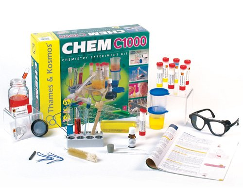 Chemistry 1000 Ages 10+     Visit: ThamesandKosmos.com