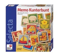 Selecta Keepsake Wooden Memory Game