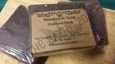 Oatmeal Stout Handmade Soap / Beer Soap
