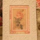 Chic n' Shabby Patchwork Rose Print & Vintage Chic Cast Iron Frame