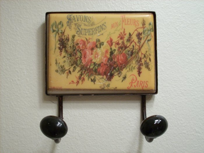 Shabby Paris Chic Decorative Wall Hook