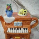 Decorative Ceramic Piano Teapot