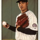 2010 Topps Heritage 292 Jhoulys Chacin