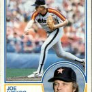 1983 Topps 221 Joe Niekro
