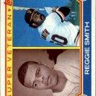 1983 Topps 283 Reggie Smith SV