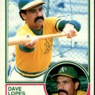 1983 Topps 365 Dave Lopes