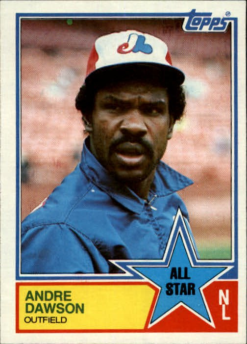 1983 Topps 402 Andre Dawson AS
