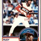 1983 Topps 514 Rudy Law