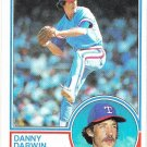 1983 Topps 609 Danny Darwin