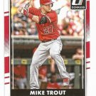 2016 Donruss 83A Mike Trout