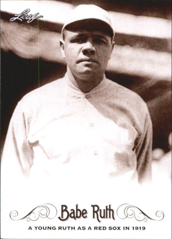 2016 Leaf Babe Ruth Collection 1 Babe Ruth