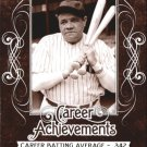 2016 Leaf Babe Ruth Collection Career Achievements CA1 Babe Ruth