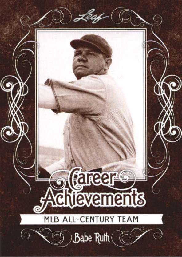 2016 Leaf Babe Ruth Collection Career Achievements CA10 Babe Ruth