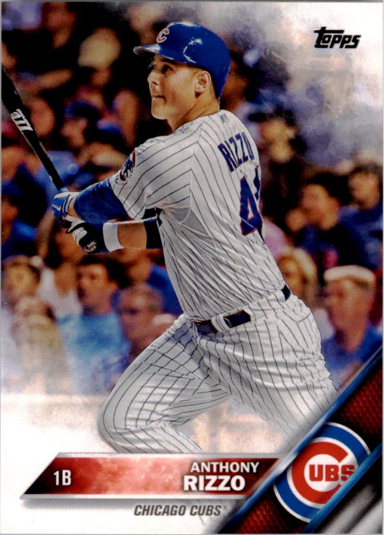 2016 Topps 327A Anthony Rizzo