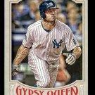 2016 Topps Gypsy Queen Mini 112 Brett Gardner