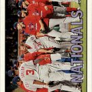 2016 Topps Heritage 360 Washington Nationals