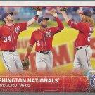 2015 Topps 160 Washington Nationals