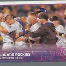 2015 Topps 168 Colorado Rockies