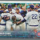 2015 Topps 196 Chicago Cubs