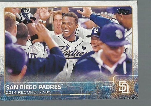 2015 Topps 342 San Diego Padres