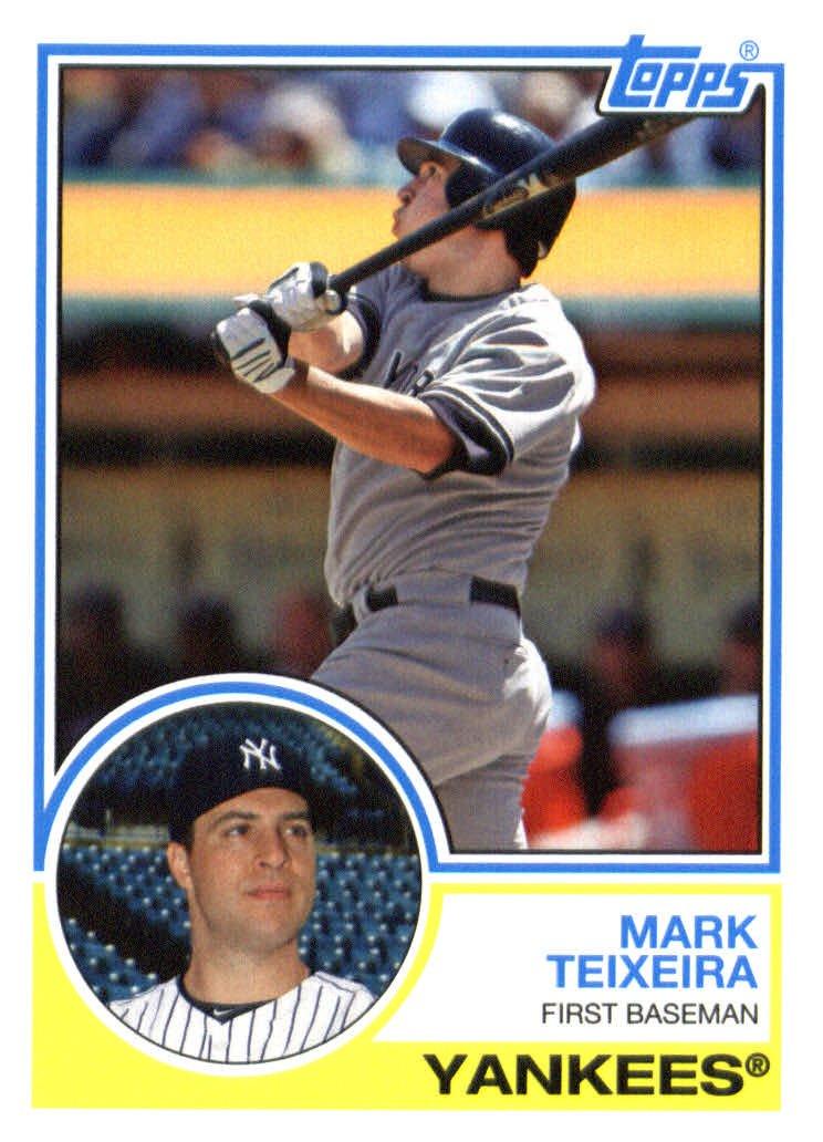 2015 Topps Archives 215 Mark Teixeira