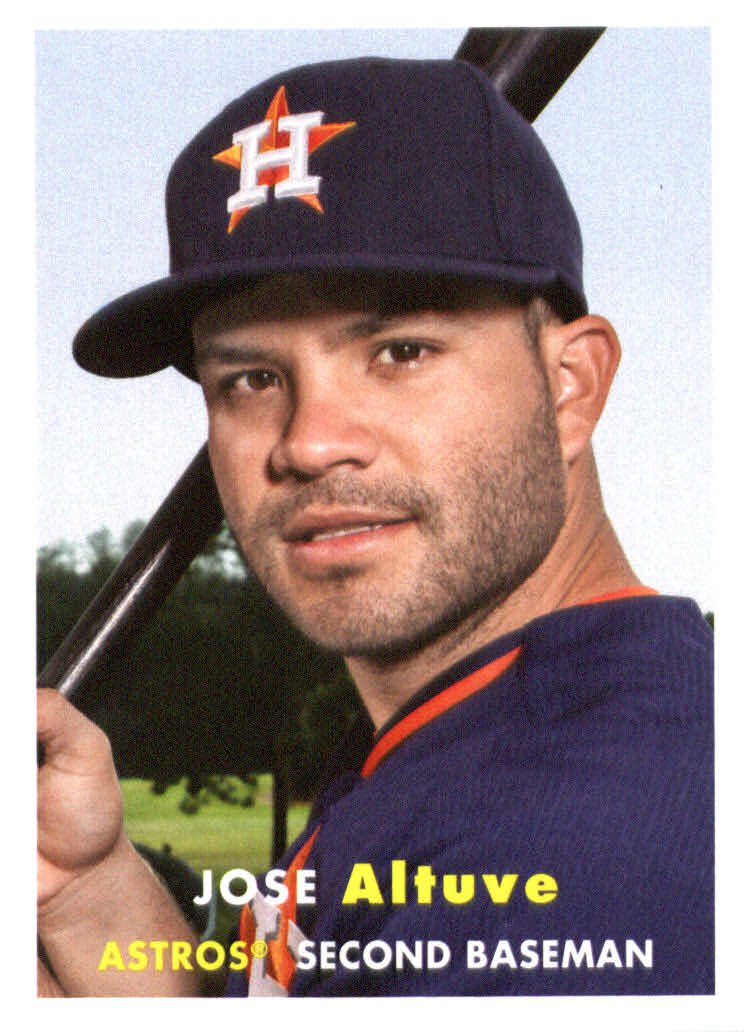 2015 Topps Archives 67 Jose Altuve
