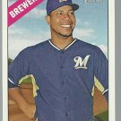 2015 Topps Heritage 376 Wily Peralta
